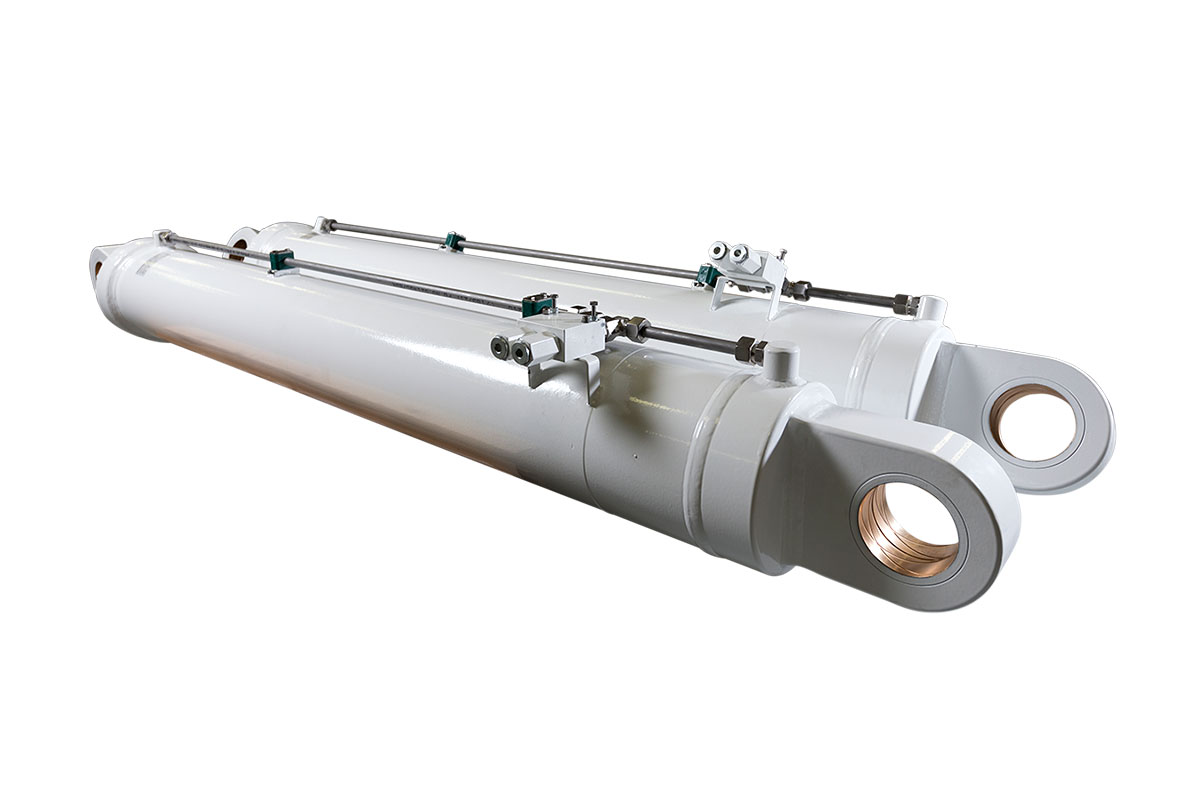 Hydraulic Cylinders for Energy Sector | Unverler Machinery