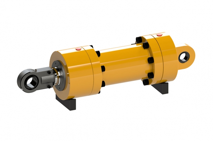 İş Makinaları Hidrolik Silindirleri / Hydraulic Cylinder for Heavy Construction Equipment